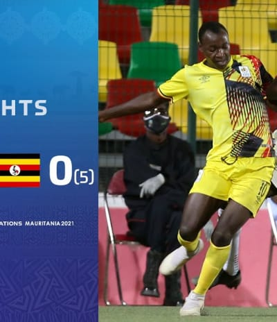 HIGHLIGHTS | Total AFCONU20​ 2021 | Quarter Final 2: Burkina Faso 0 (3) - (5) 0 Uganda