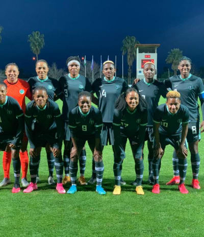 Les Super Falcons du Nigeria de retour aux affaires à Waldrum
