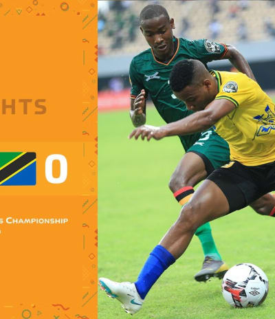 HIGHLIGHTS | Total CHAN 2020 | Round 1 - Group D: Zambia 2-0 Tanzania