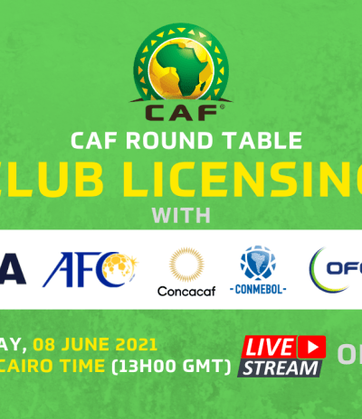 CAF Club licensing and Stadia online Workshop 2021/22  – Zoom Sessions