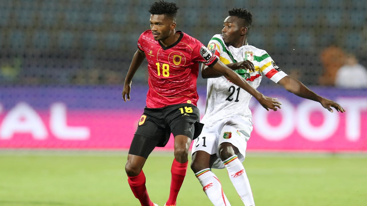 Angola vs Mali | Total Africa Cup of Nations Egypt 2019 ...