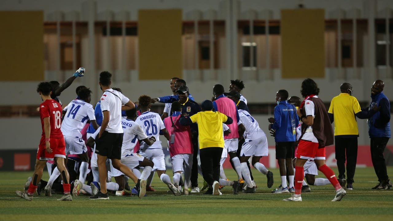 Debutants Central Africa Republic clash with Gambia for place in last four