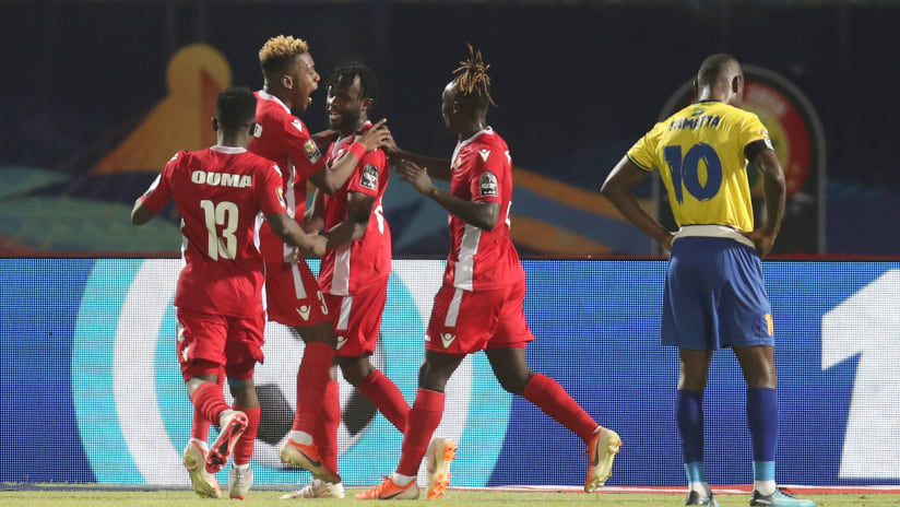 Olunga double fires Kenya past Tanzania | Total Africa Cup of ...