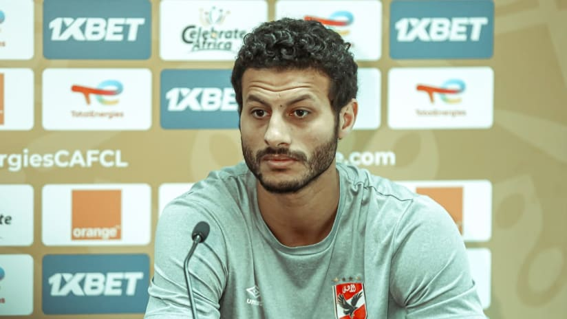 Press Conference - CAF CL Final - Al Ahly.1