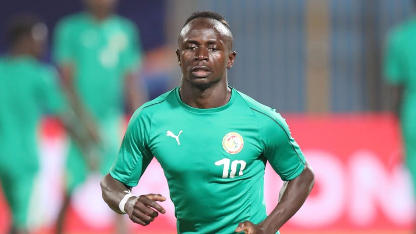 Sadio Mane of Senegal during the 2019 Africa Cup of Nations match between Kenya and Senegal at the 30 June Stadium, Cairo on the 01 July 2019 ©Muzi Ntombela/BackpagePix