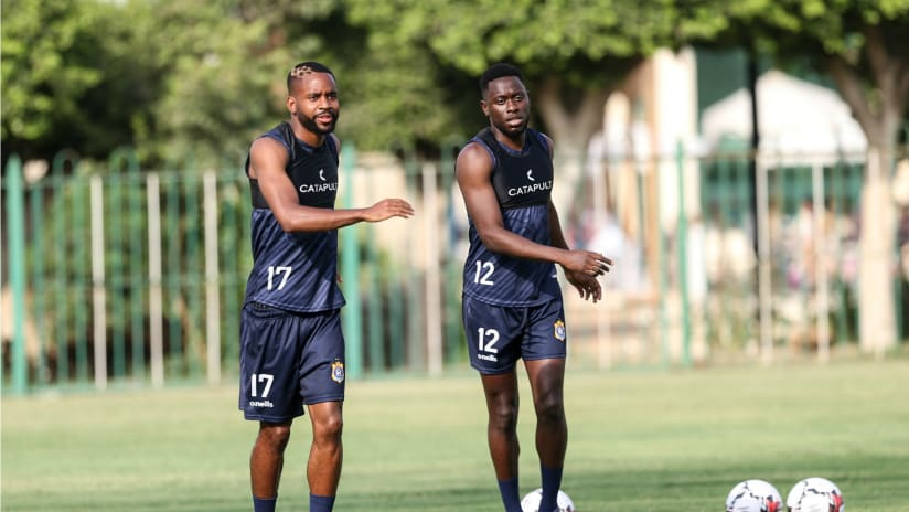 DR Congo Training-Official Training Session. AFCON Egypt 2019