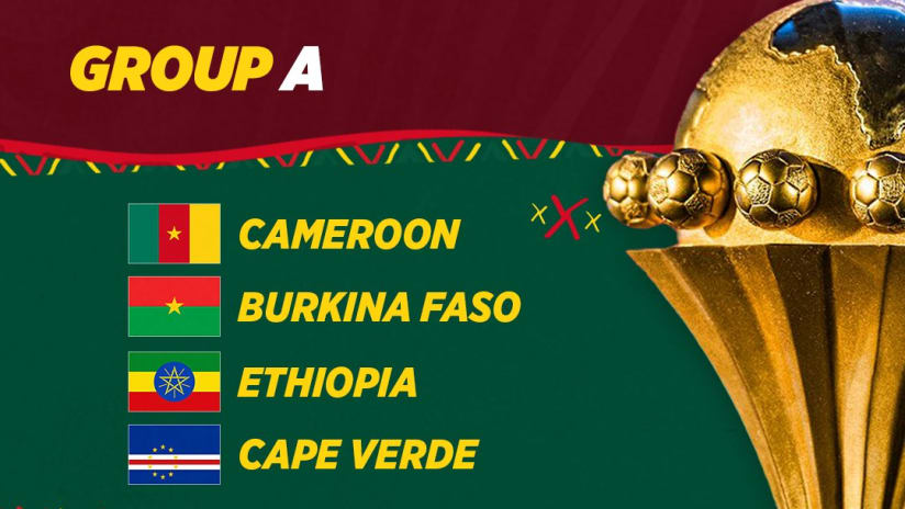 group A Afcon