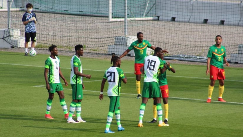 Nigeria vs Cameroon in Vienna on tuesday 2