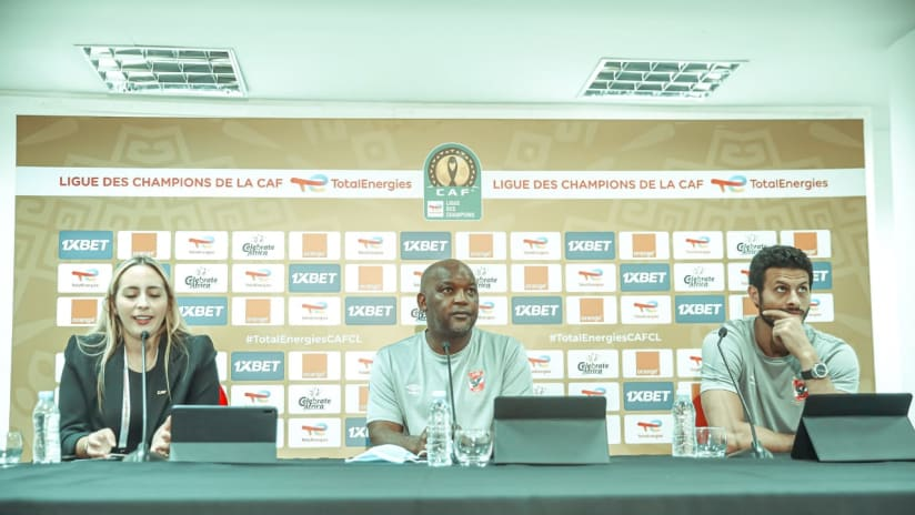 Press Conference - CAF CL Final - Al Ahly1