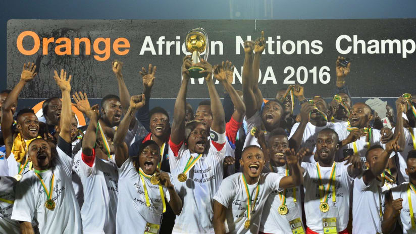 DR Congo CHAN  Champions 2016