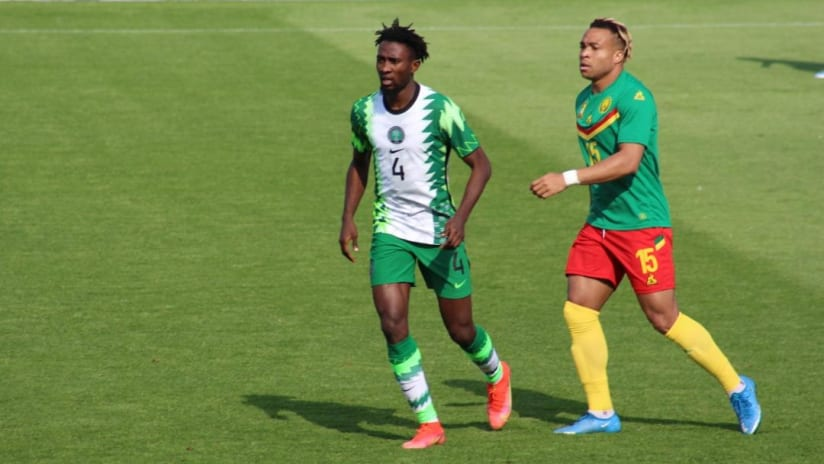Nigeria vs Cameroon in Vienna on tuesday