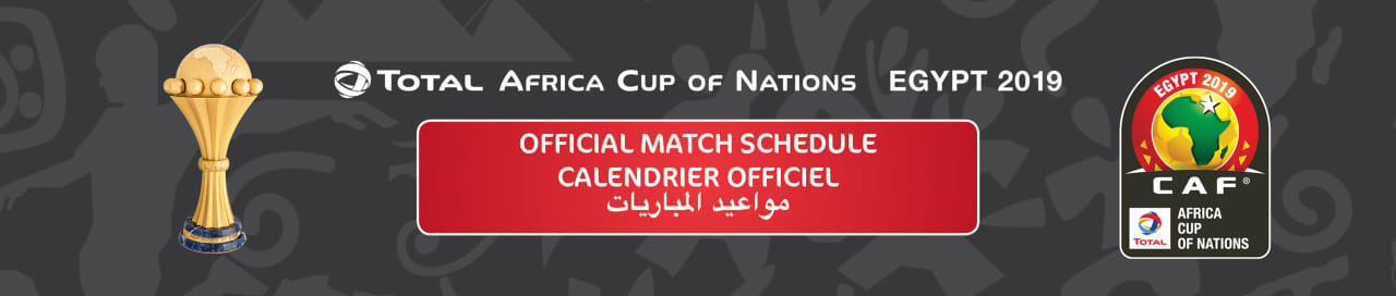 Calendrier Champions Cup 2019.Total Africa Cup Of Nations Egypt 2019 Cafonline Com