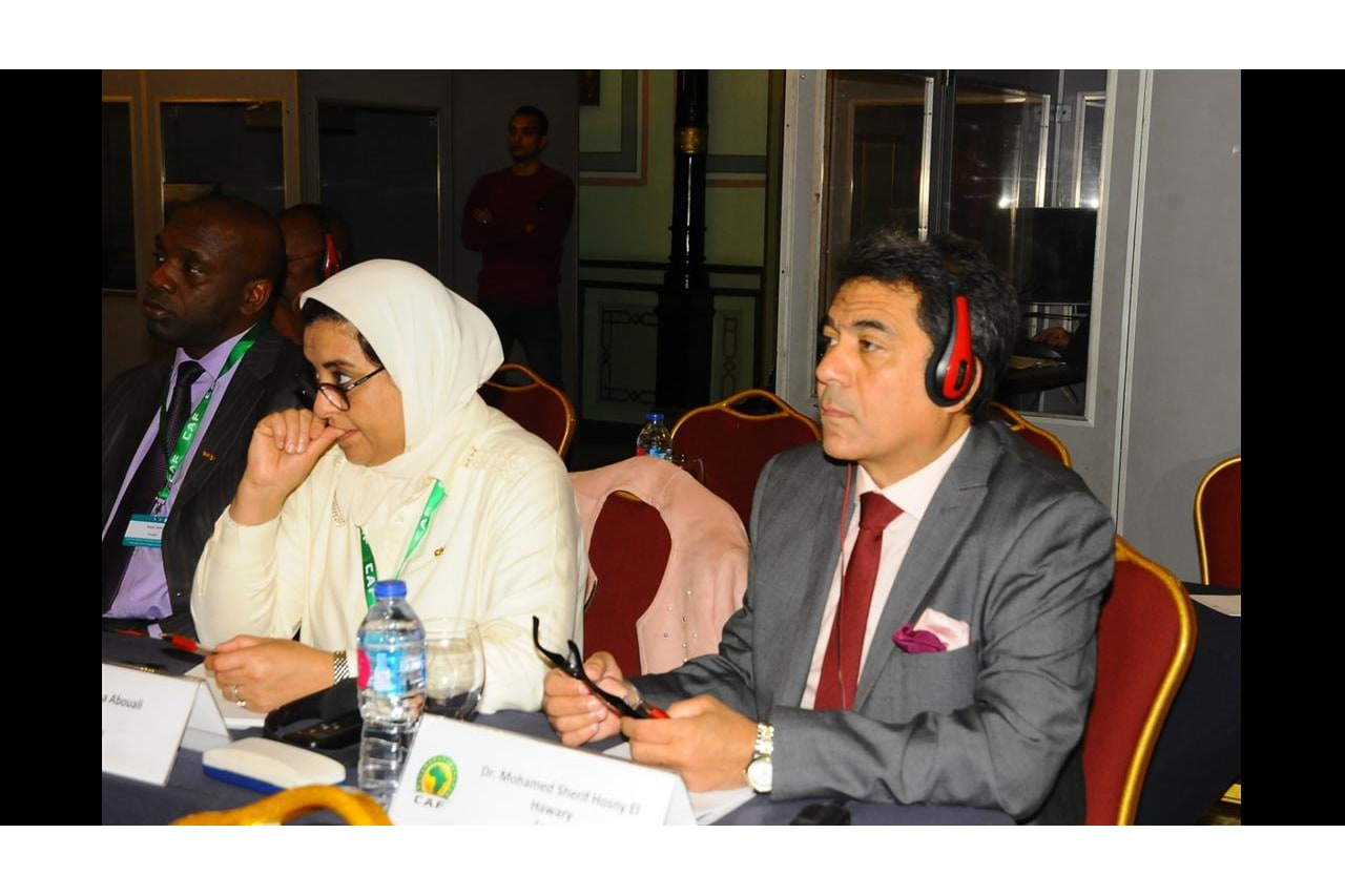 CAF- FIFA Doping Control Officers workshop, Cairo - Egypt