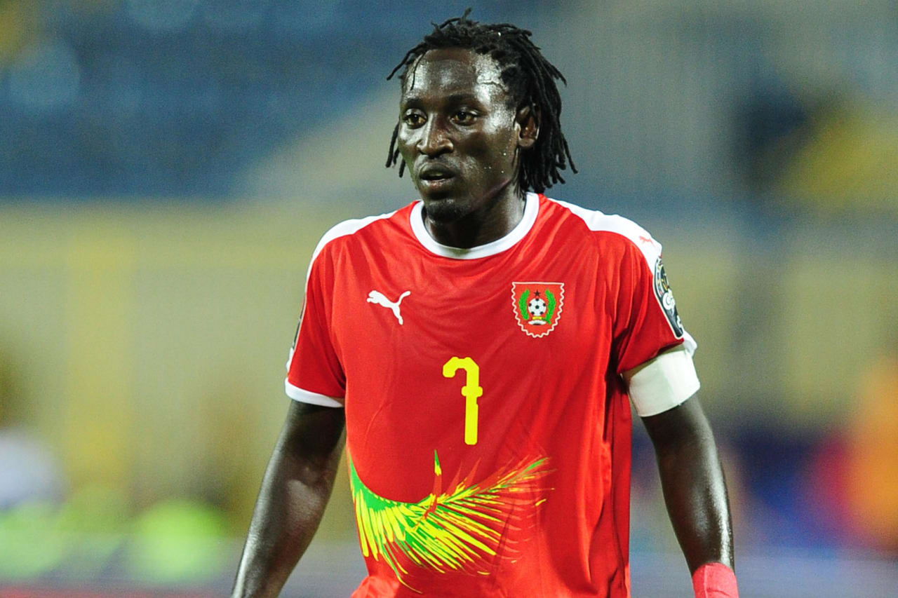 Jose Luis Mendes Lopez Zezinho of Guinea-Bissau during the 2019 Africa Cup of Nations Finals game between Cameroon and Guinea-Bissau at Ismailia Stadium in Ismailia, Egypt on 25 June 2019 © Ryan Wilkisky/BackpagePix