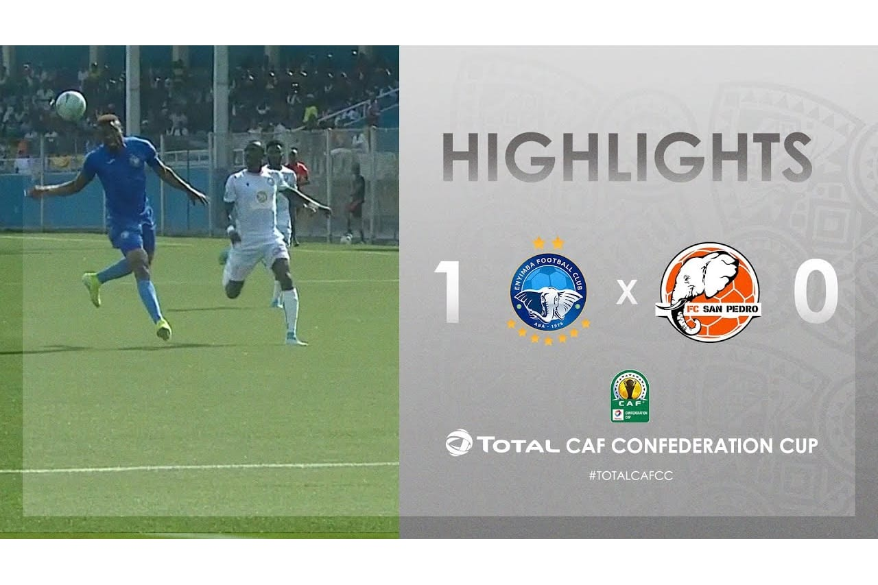 HIGHLIGHTS | #TotalCAFCC | Round 2 - Group D: Enyimba FC 1-0 FC San Pédro