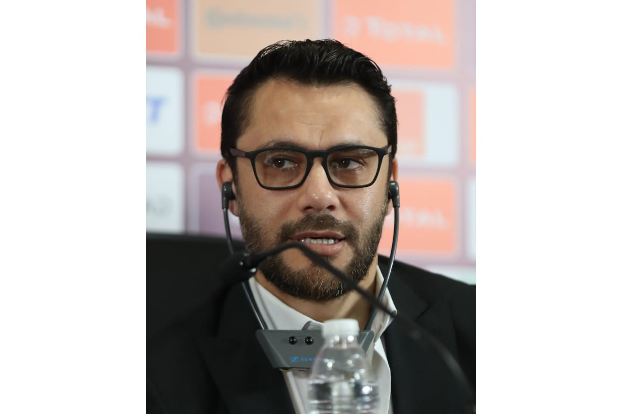 Ahmed Hassan CAF legend during the 2019 Africa Cup of Nations Finals CAF press conference at Cairo International Stadium, Cairo, Egypt on 30 June 2019