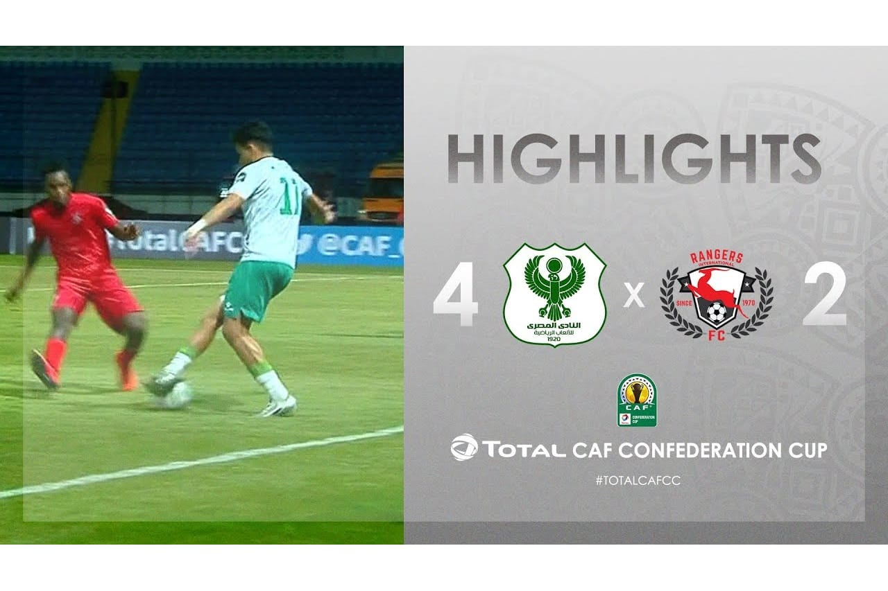 HIGHLIGHTS | #TotalCAFCC | Round 2 - Group A: Al-Masry SC 4-2 Rangers Int. FC
