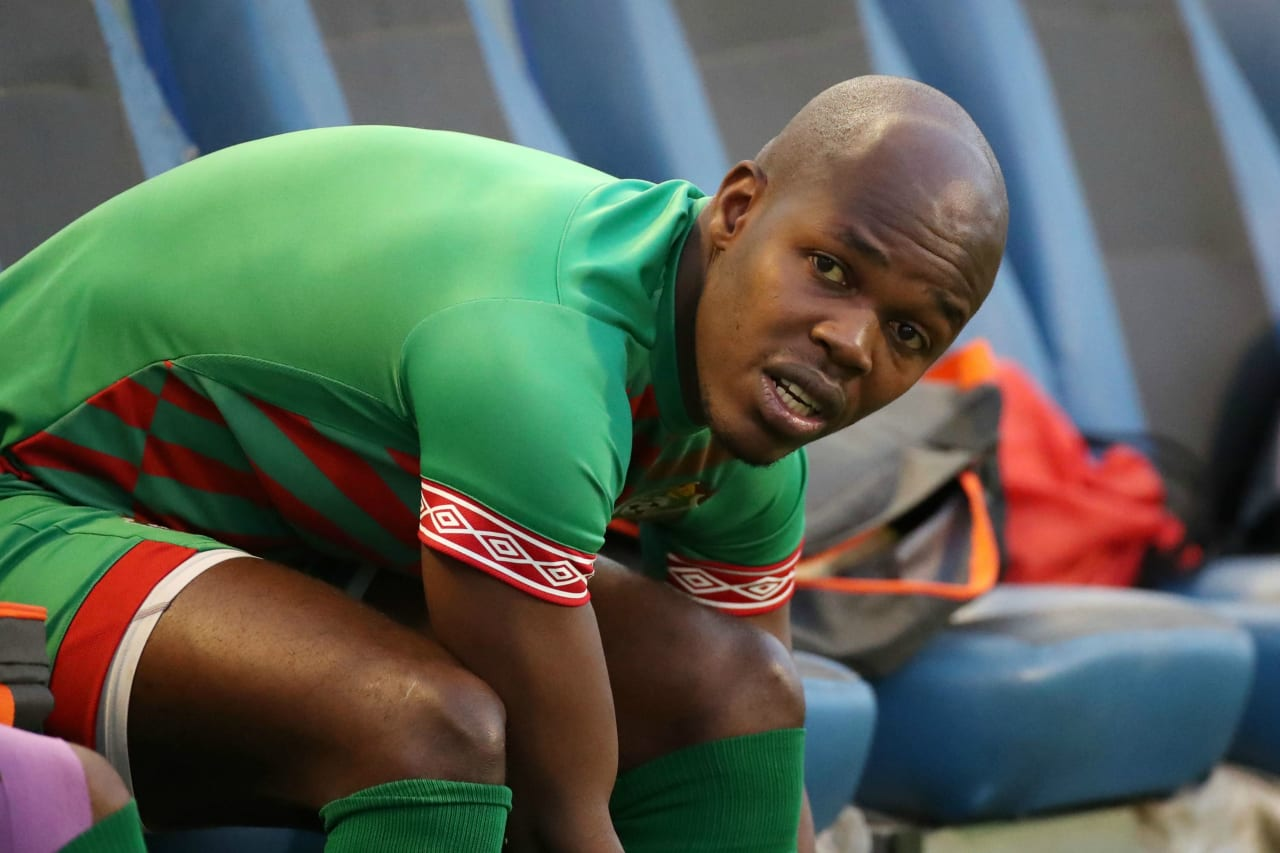 Knowledge Musona of Zimbabwe during the 2019 Africa Cup of Nations Finals Zimbabwe Training at the El Sekka El Hadeed, Cairo on the 19 June 2019 ©Muzi Ntombela/BackpagePix