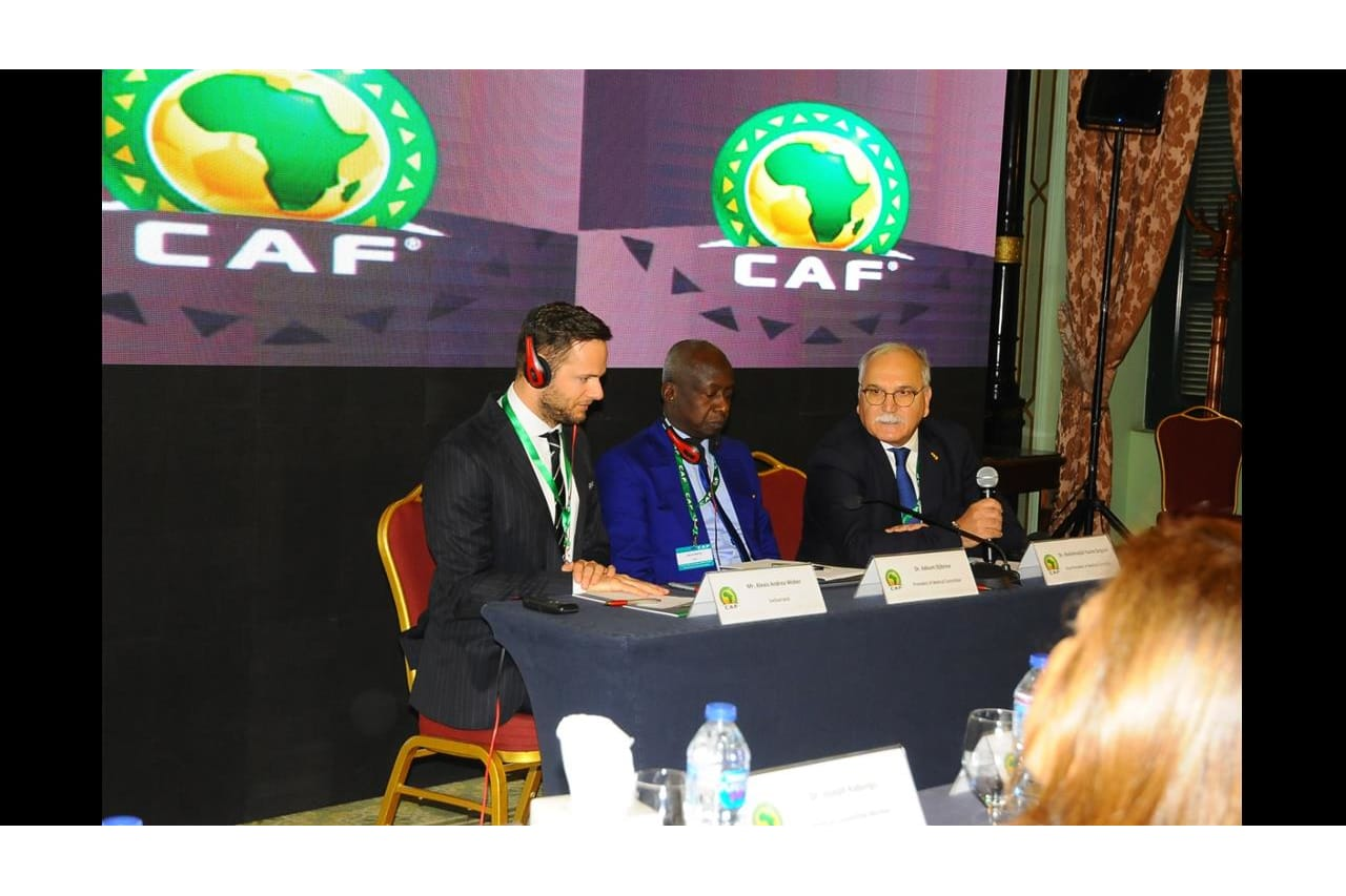 CAF- FIFA Doping Control Officers workshop, held from 19-20 March 2019 in Cairo, Egypt