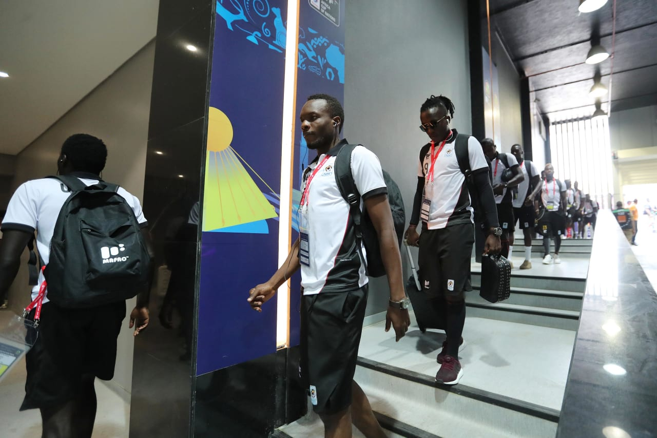 Uganda team arrival during the 2019 Africa Cup of Nations Finals football match between DR Congo and Uganda  at the Cairo International Stadium, Cairo, Egypt on 22 June 2019 ©BackpagePix