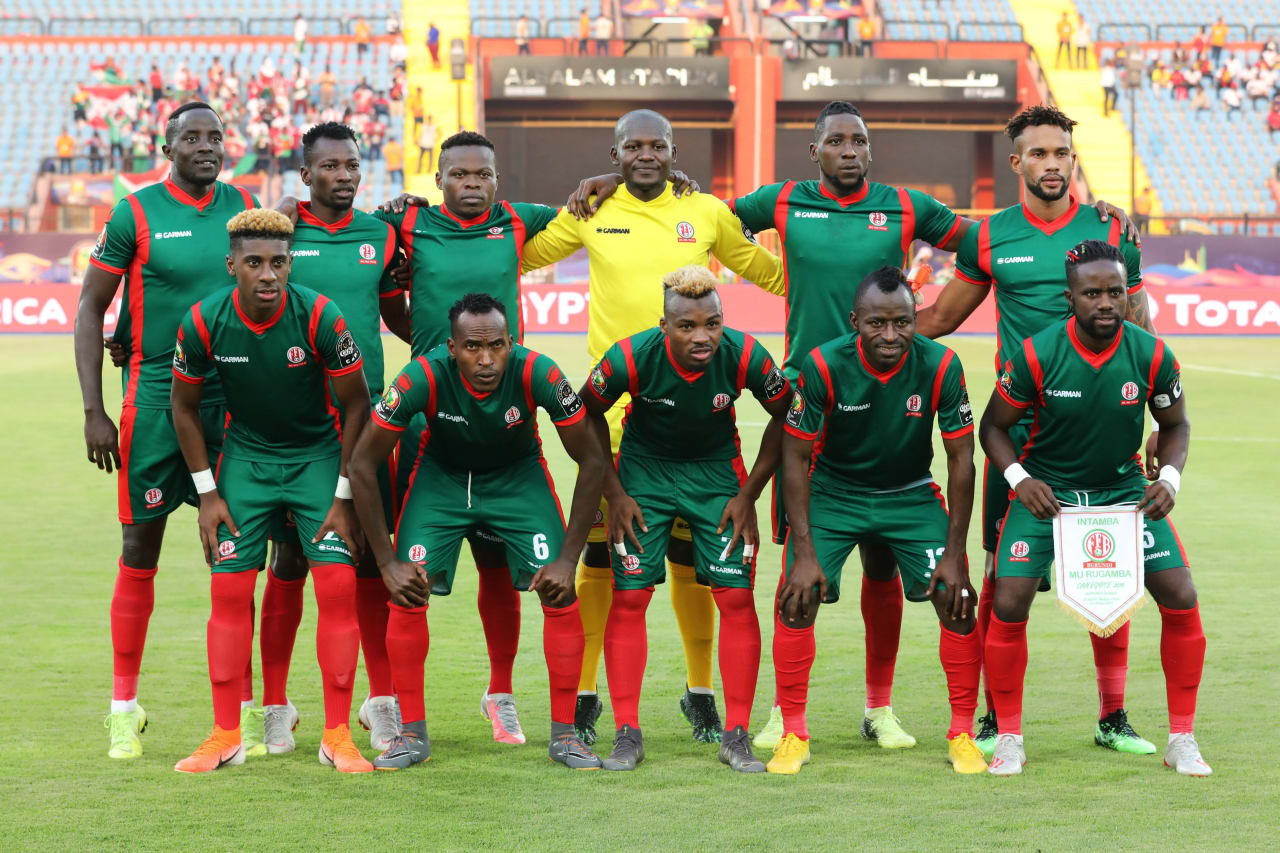 Burundi Team Picture during the 2019 Africa Cup of Nations Finals football match between Burundi and Guinea at the Al Salam Stadium, Cairo, Egypt on 28 June 2019 ©Gavin Barker/BackpagePix