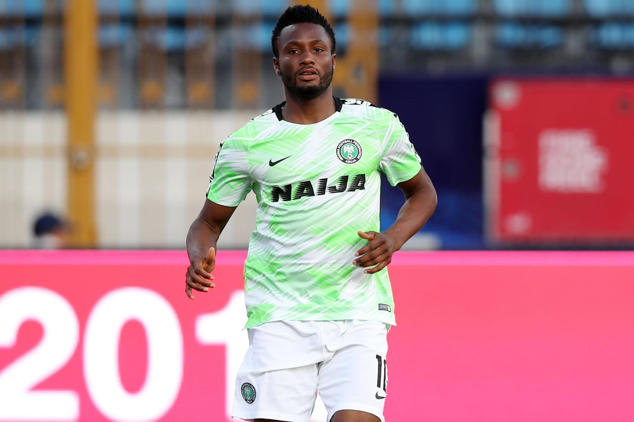 John Obi Mikel of Nigeria during the 2019 Africa Cup of Nations Finals match between Nigeria and Burundi at the Alexandria Stadium, Alexandria on the 22 June 2019 ©Muzi Ntombela/BackpagePix