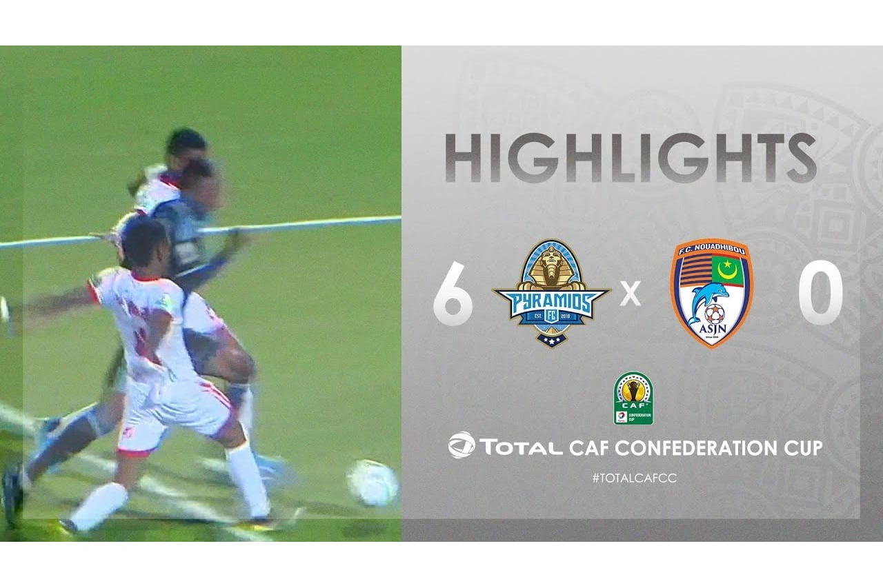 HIGHLIGHTS | #TotalCAFCC | Round 2 - Group A:  Pyramids FC 6-0  FC Nouadhibou