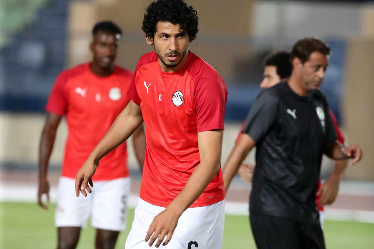 Ahmed Hegazi of Egypt during the 2019 Africa Cup of Nations Finals Egypt at Cairo Military Academy, Cairo, Egypt on 19 June 2019 ©Samuel Shivambu/BackpagePix