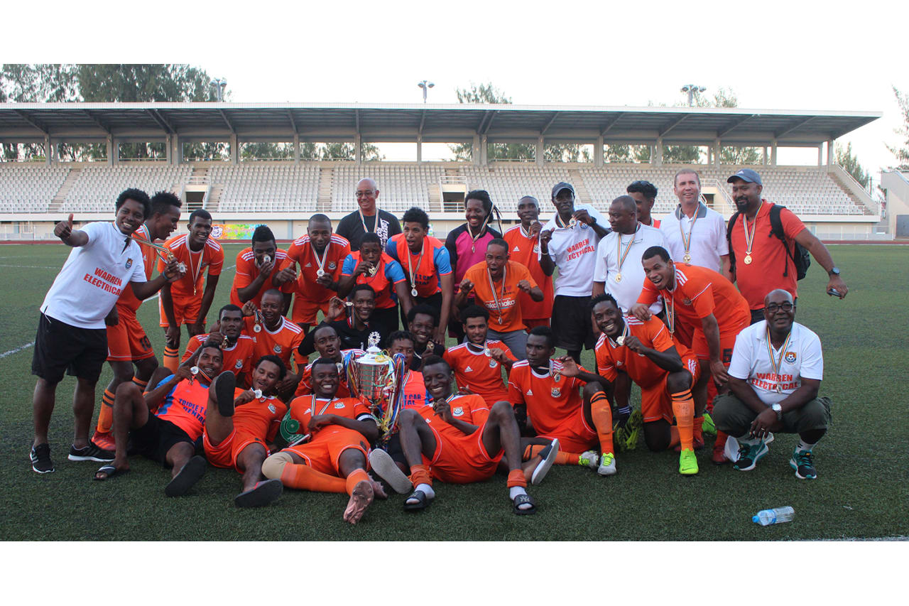 Cote D'Or FC is the new President's cup champions