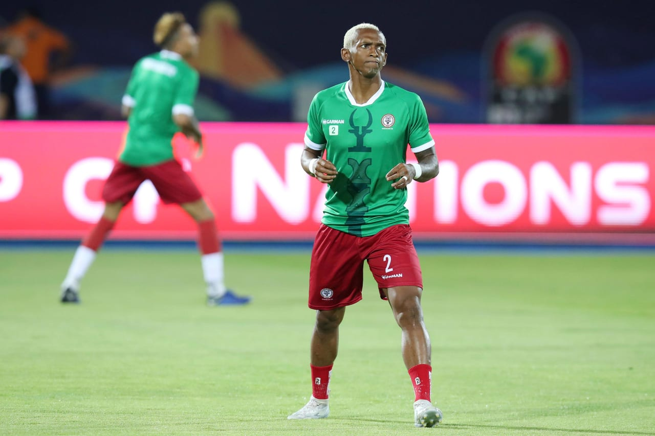 Charles Carolus Andrea of Madagascar during the 2019 Africa Cup of Nations Quarterfinals match between Madagascar and Tunisia at the Al Salam Stadium, Cairo on the 10 July 2019 ©Muzi Ntombela/BackpagePix