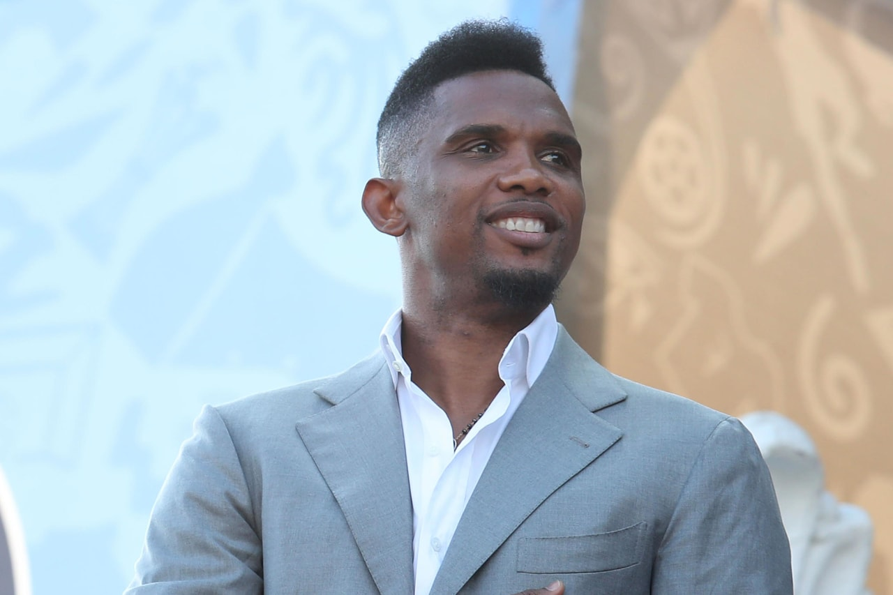 Samuel Etoo during the 2019 Africa Cup of Nations Last 16 match between Nigeria and Cameroon at the Alexandria Stadium, Alexandria on the 06 July 2019 ©Muzi Ntombela/BackpagePix