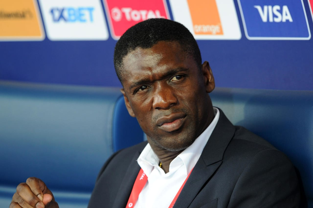 Clarence Seedorf, Head Coach of Cameroon during the 2019 Africa Cup of Nations Finals game between Cameroon and Guinea-Bissau at Ismailia Stadium in Ismailia, Egypt on 25 June 2019 © Ryan Wilkisky/BackpagePix