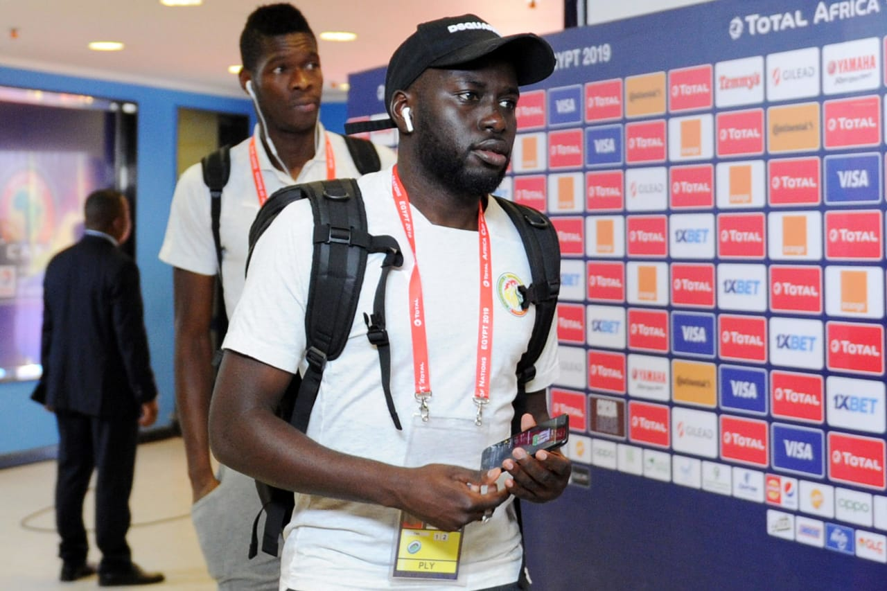 Senegal players arrive before the Africa Cup of Nations 2019 Finals semifinal game between Senegal and Tunisia at 30 June Stadium in Cairo, Egypt on 14 July 2019 © Ryan Wilkisky/BackpagePix