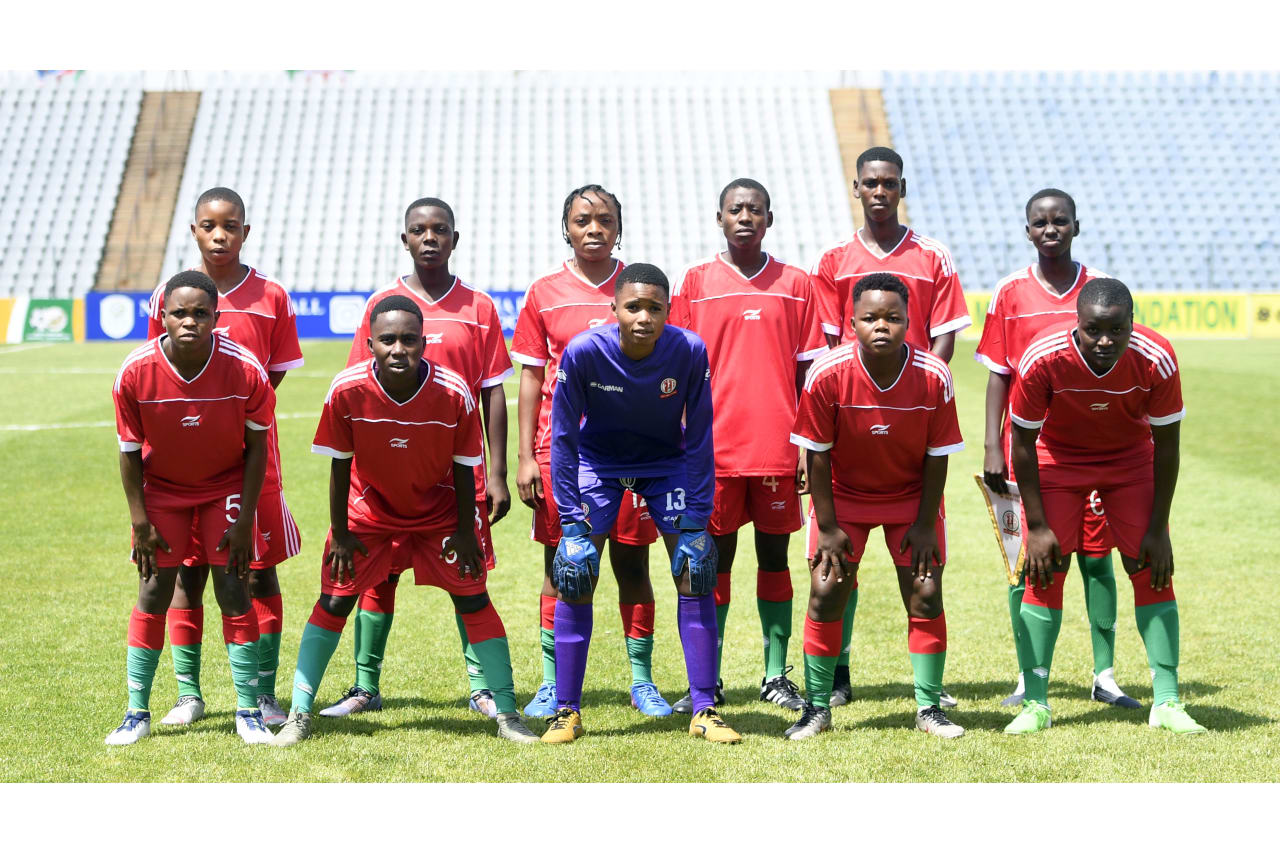 Burundi U20 Team Picture during the 2022 African Qualifiers FIFA U20 Womens World Cup match between Namibia and Burundi on the 08 October 2021 at Dobsonville Stadium, Pic Sydney MahlanguBackpagePix