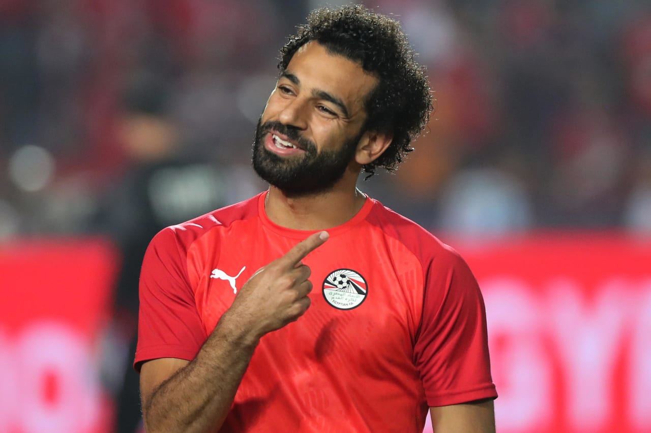 Mohamed Salah of Egypt during the 2019 Africa Cup of Nations Finals football match between Egypt and DR Congo at the Cairo International Stadium, Cairo, Egypt on 26 June 2019 ©Gavin Barker/BackpagePix