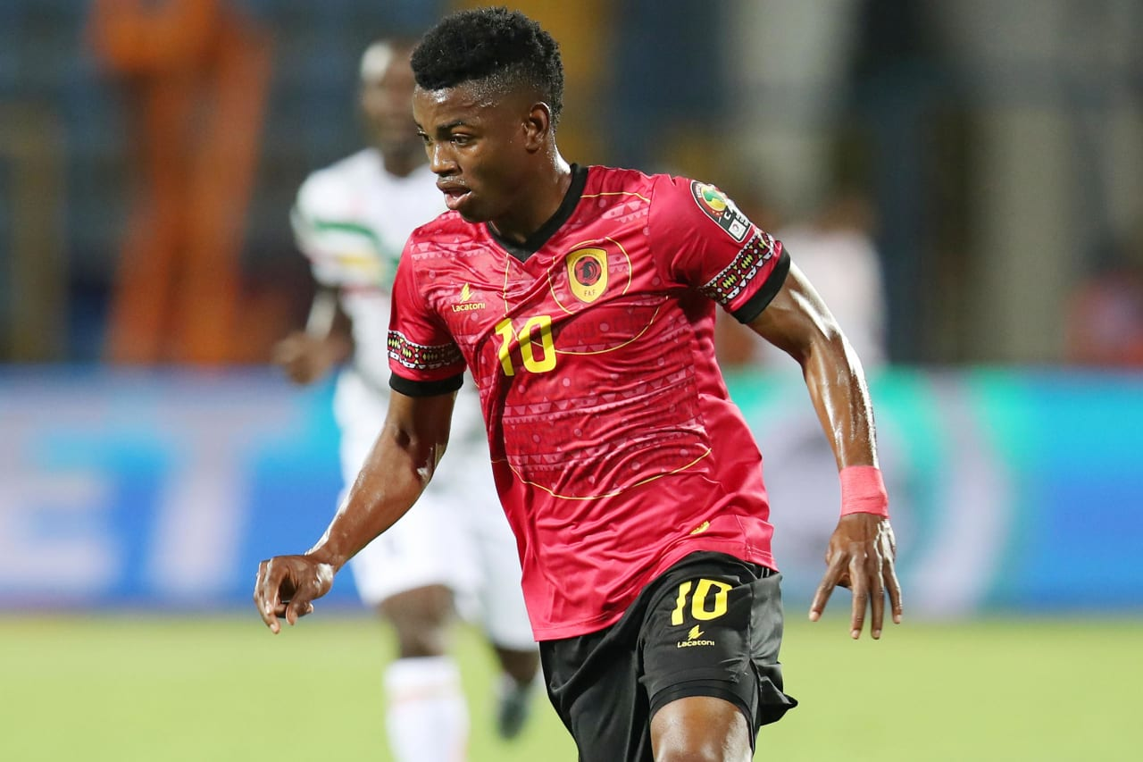 Jacinto Gelson Dala of Angola during the 2019 Africa Cup of Nations match between Angola and Mali at the Ismailia Stadium, Ismailia on the 02 July 2019 ©Muzi Ntombela/BackpagePix
