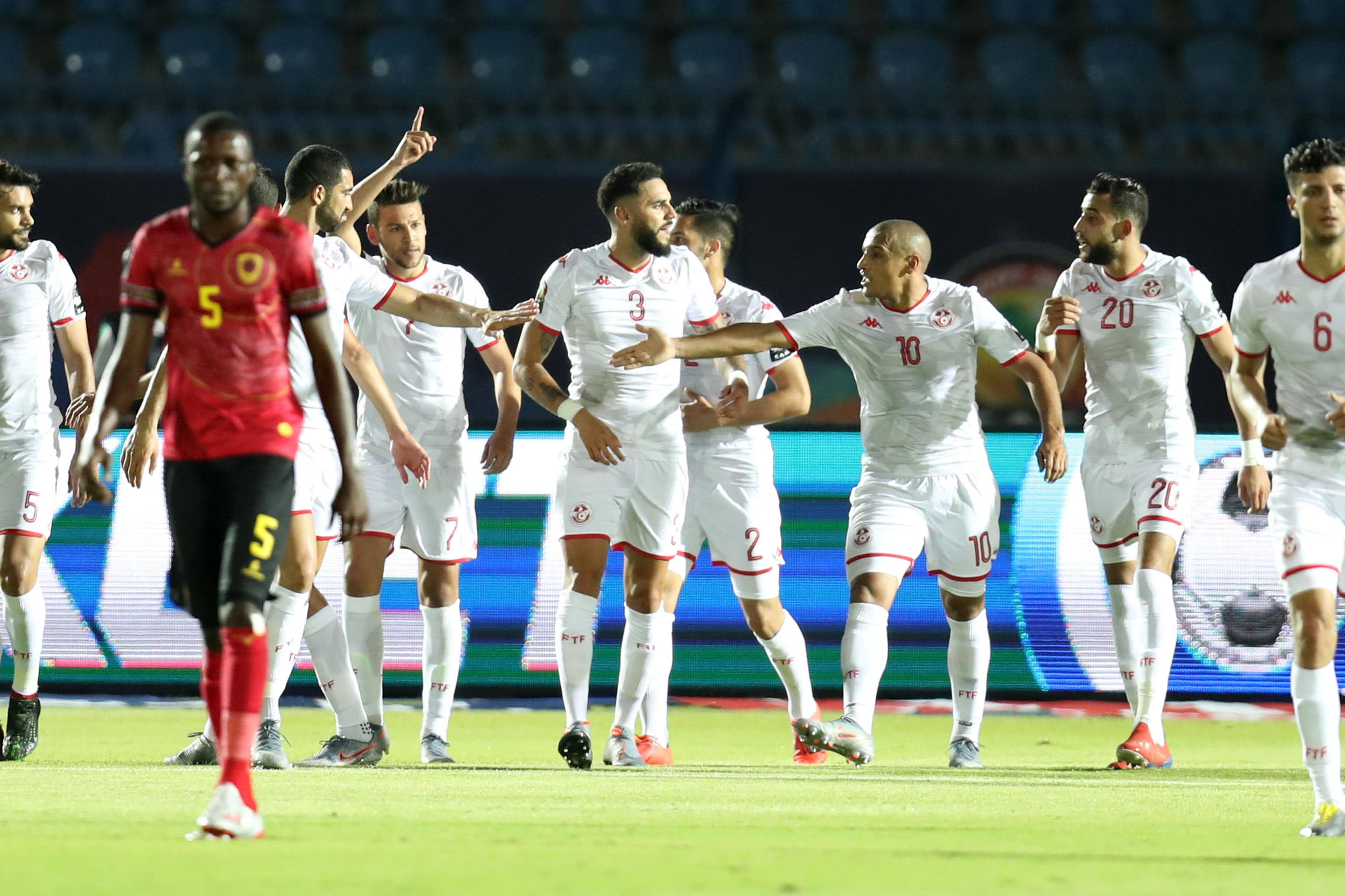 Tunisia vs Angola   Total Africa Cup of Nations Egypt 2019