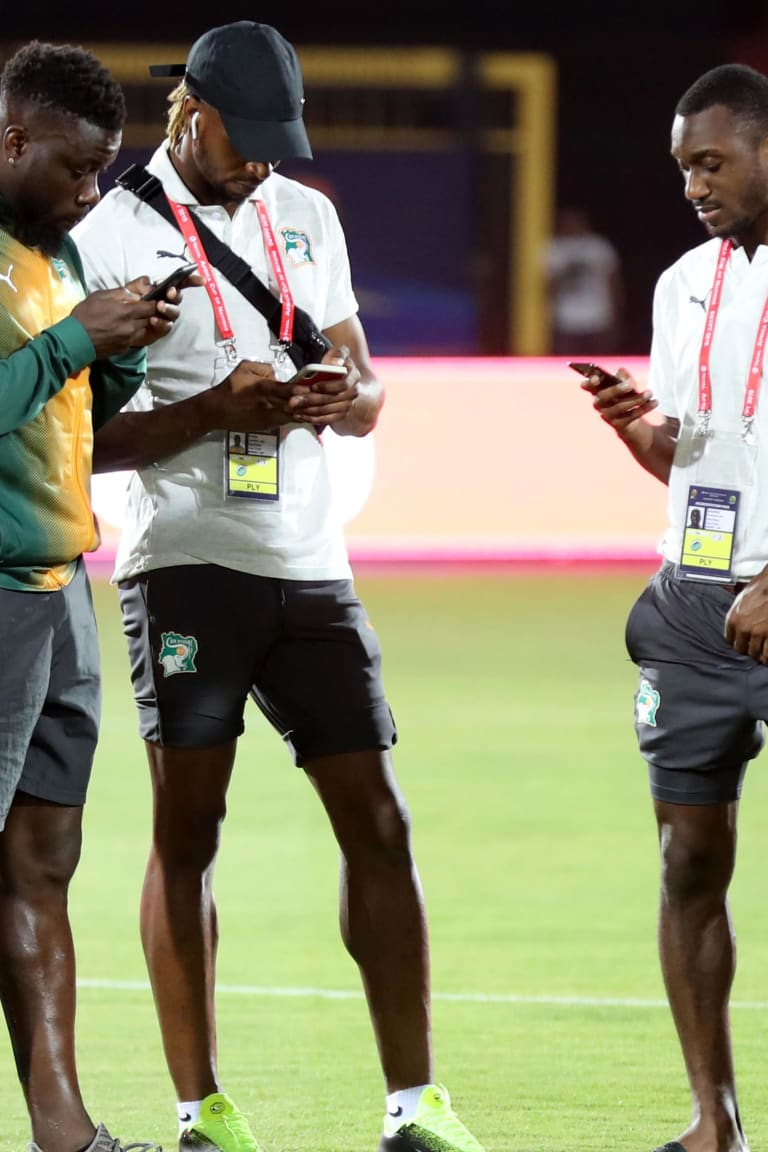 Elephants lock horns with Bafana Bafana