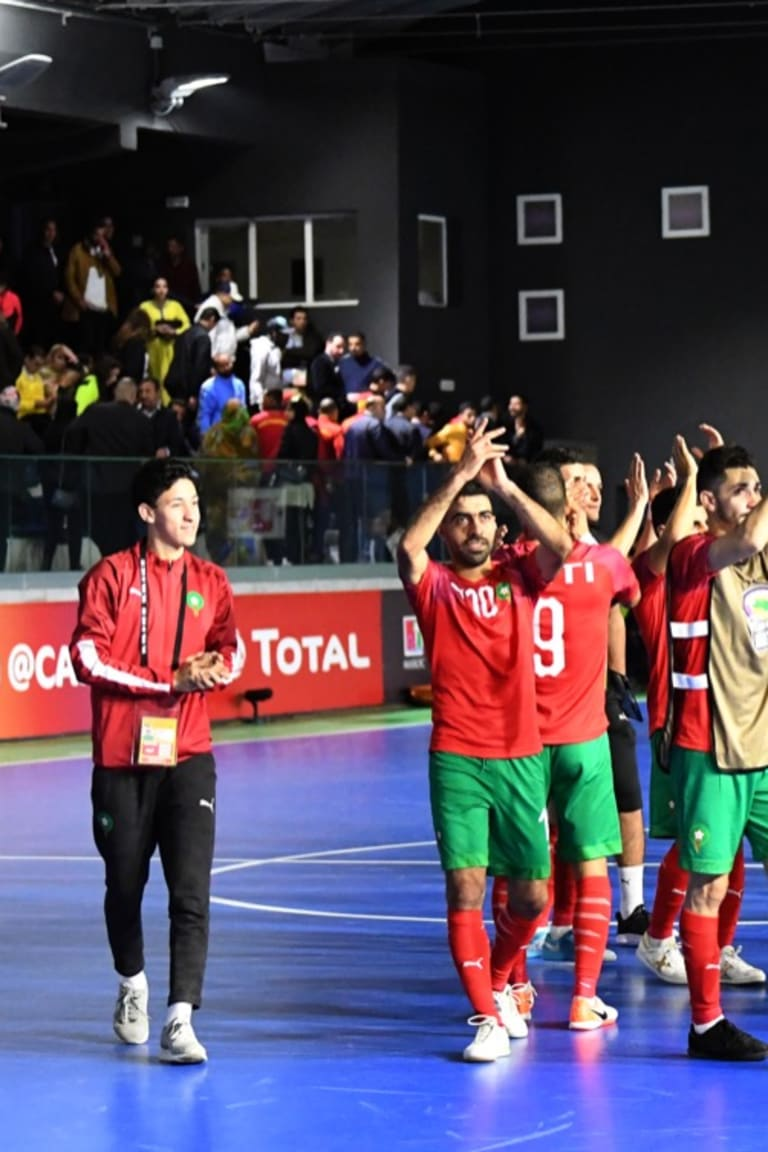 Holders Morocco off to a flier