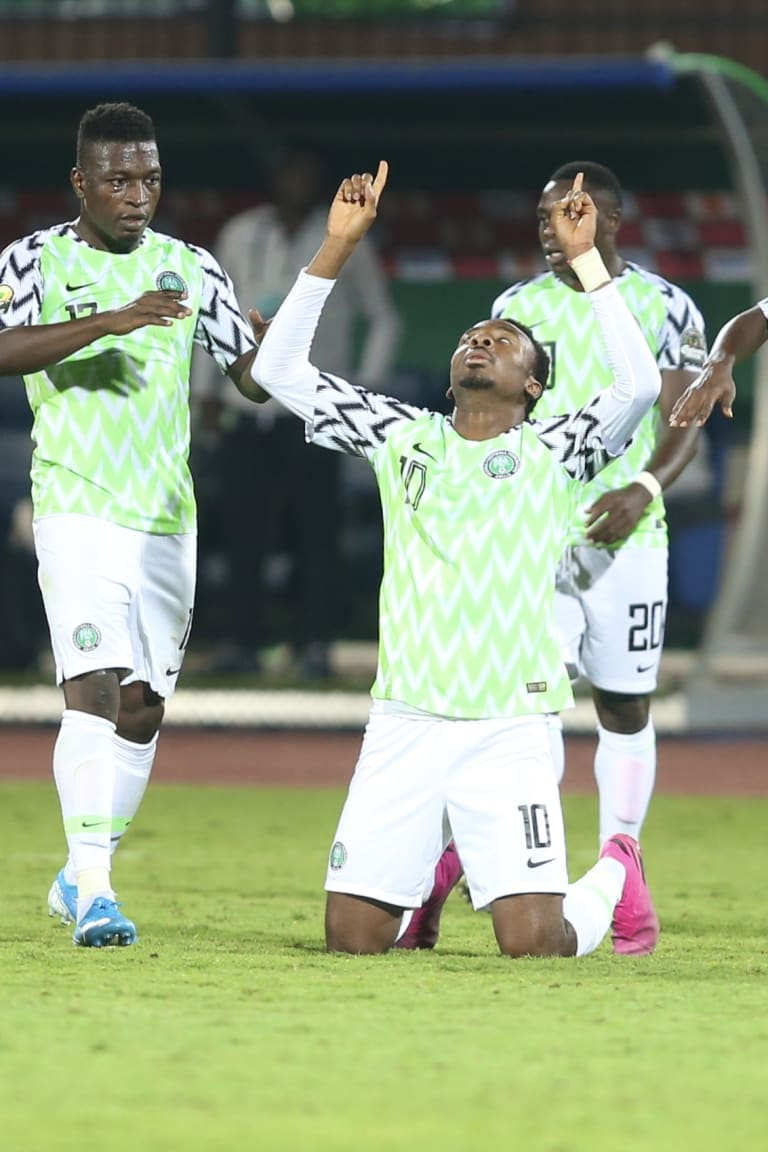 Nigeria comes from behind to beat Zambia and revive hopes