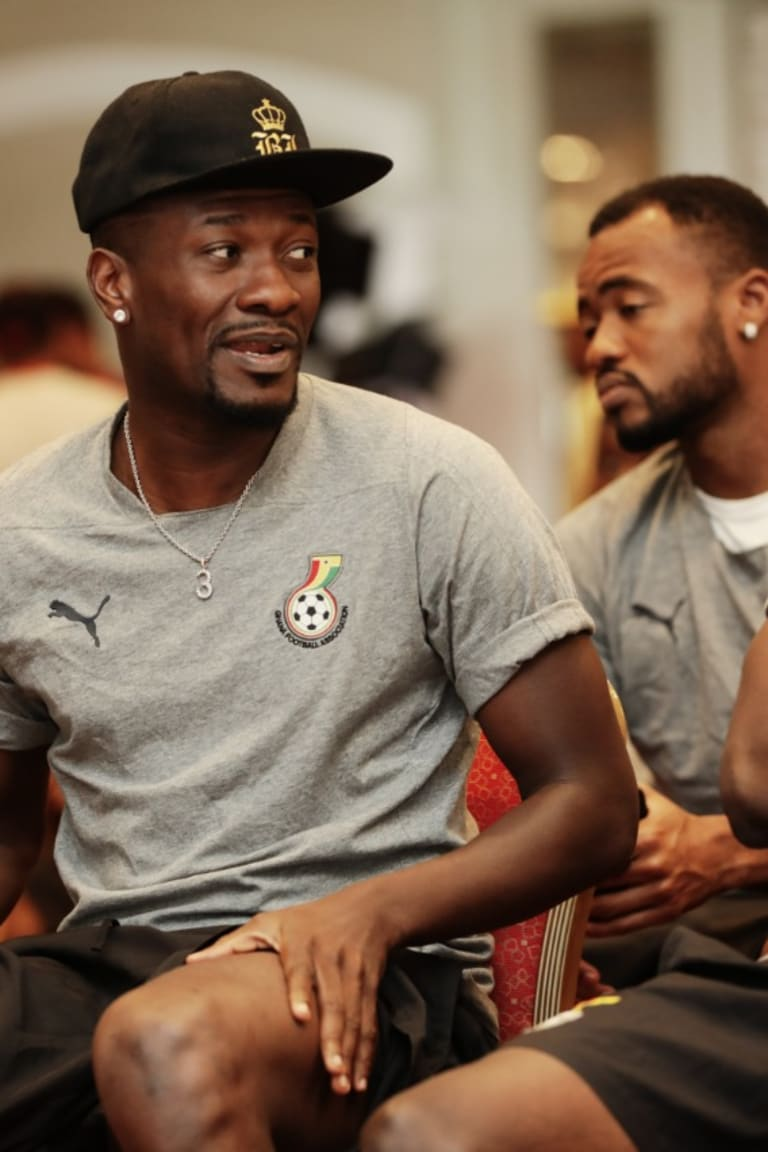 Gyan set for another milestone