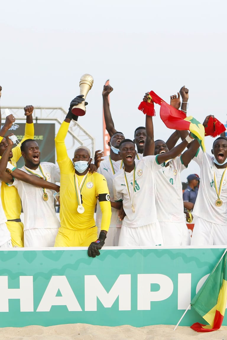Beach Soccer AFCON - Senegal Champions for 3rd consecutive time