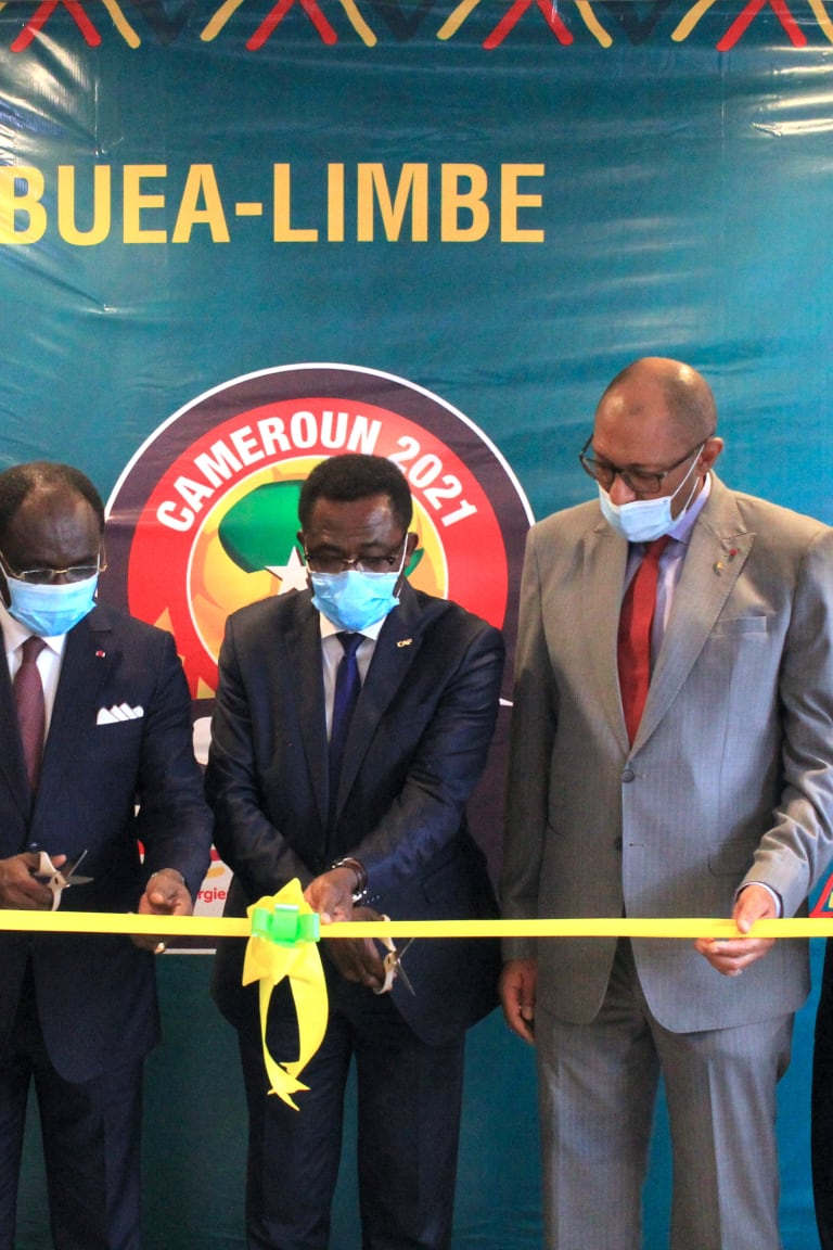 CAF new office in Yaoundé to work with Cameroon in TotalEnergies AFCON preparations